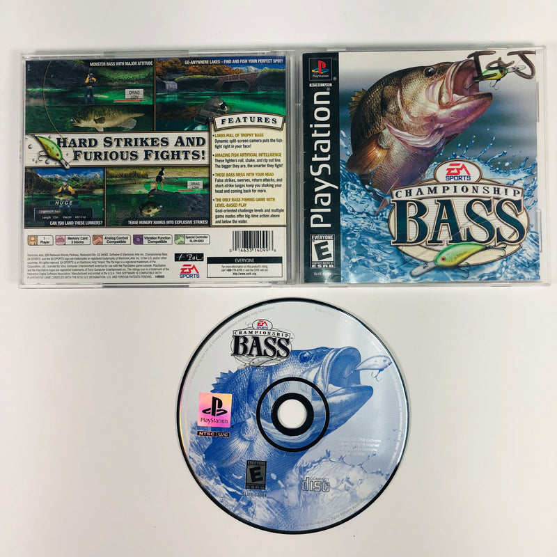 Championship Bass Sony Playstation 1 PS1