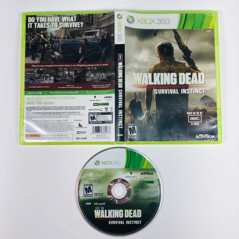 The Walking Dead Survival Instinct Microsoft Xbox 360