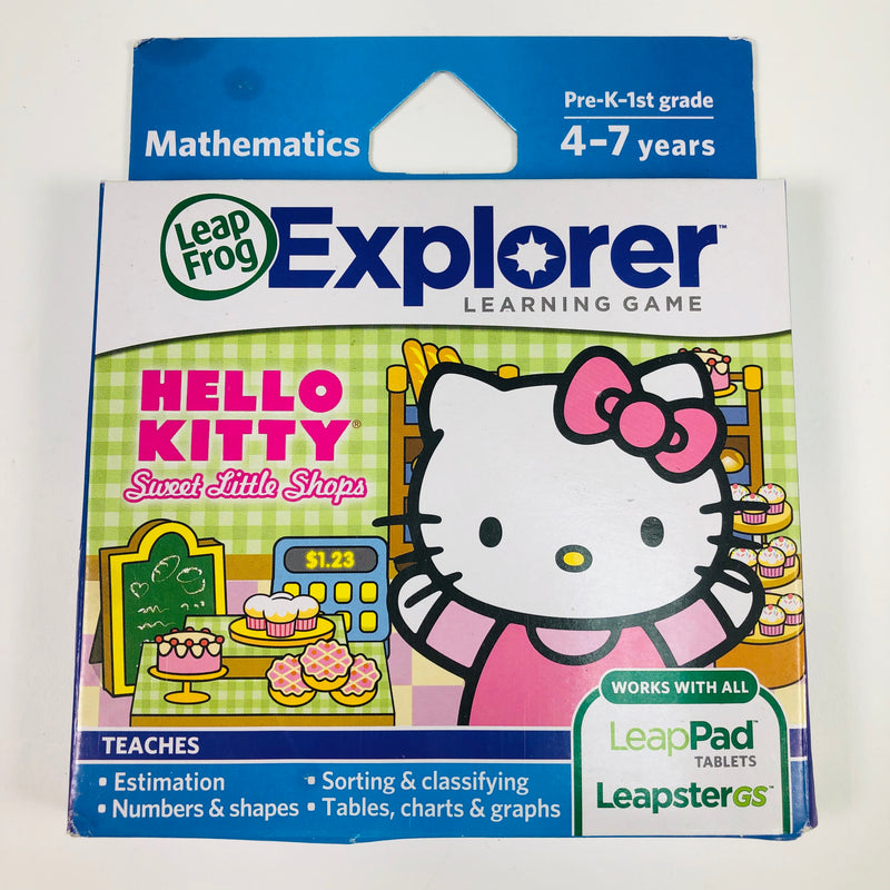 Hello Kitty Sweet Little Shops Leap Frog Explorer LeapPad Tablets Mathematics 4-7 Years