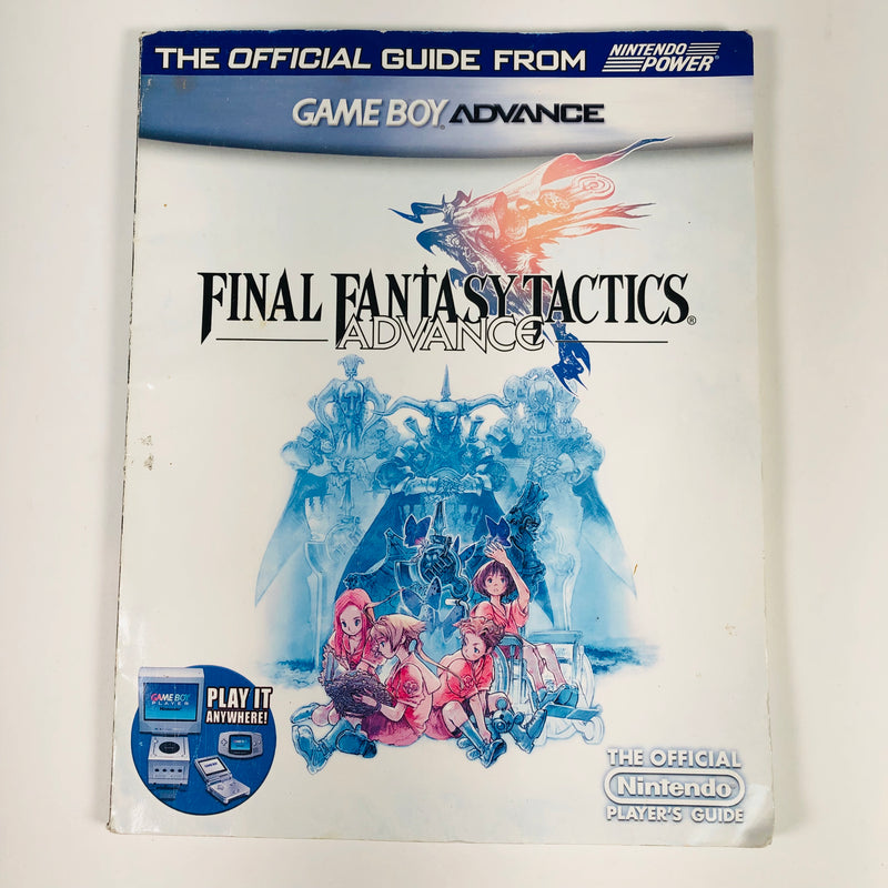 Final Fantasy Tactics Game Boy Advance GBA Nintendo Official Players Guide