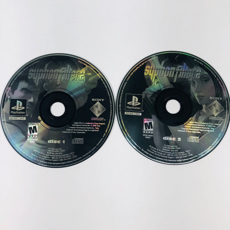 Syphon Filter 2 Greatest Hits Sony Playstation 1 PS1
