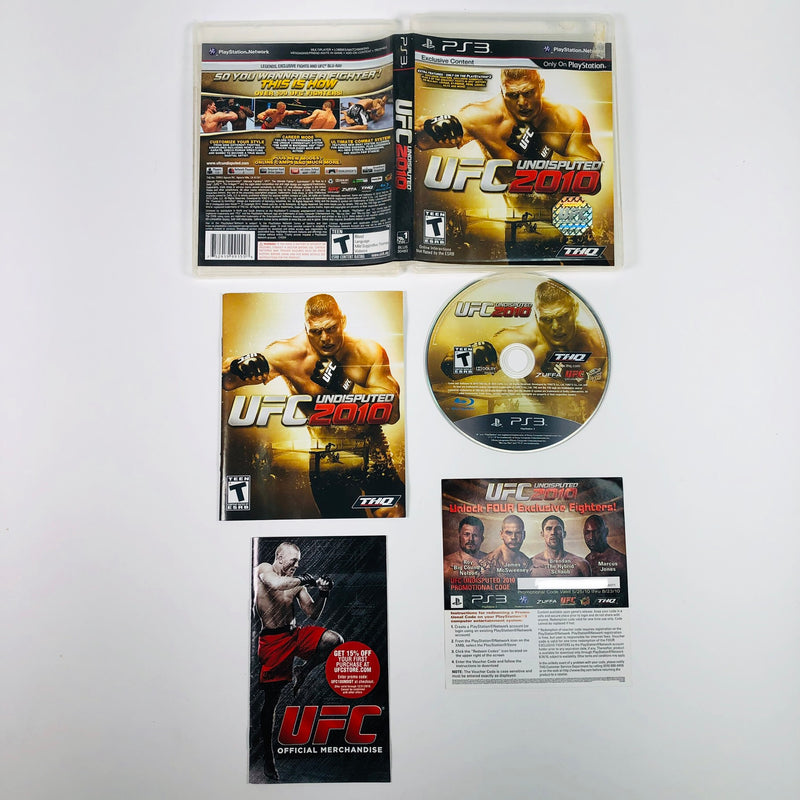 UFC Undisputed 2010 Sony Playstation 3 PS3