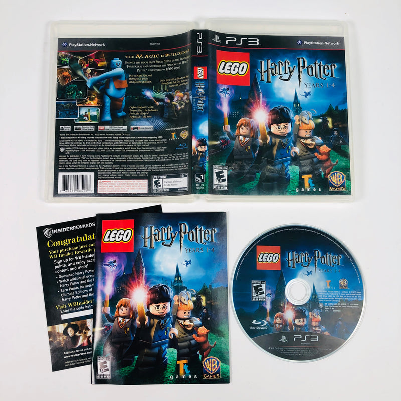 Lego Harry Potter Years 1-4 Sony Playstation 3 PS3
