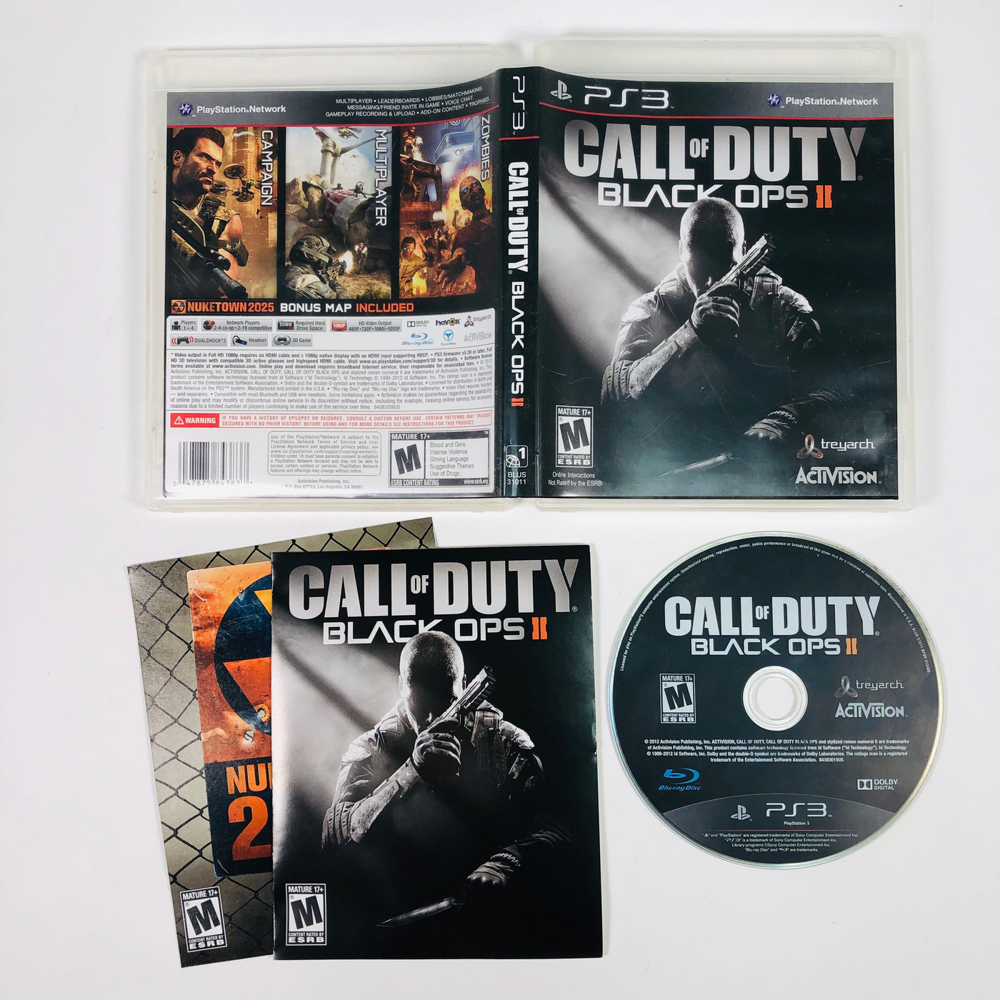 Call Of Duty Black Ops II Sony Playstation 3 PS3