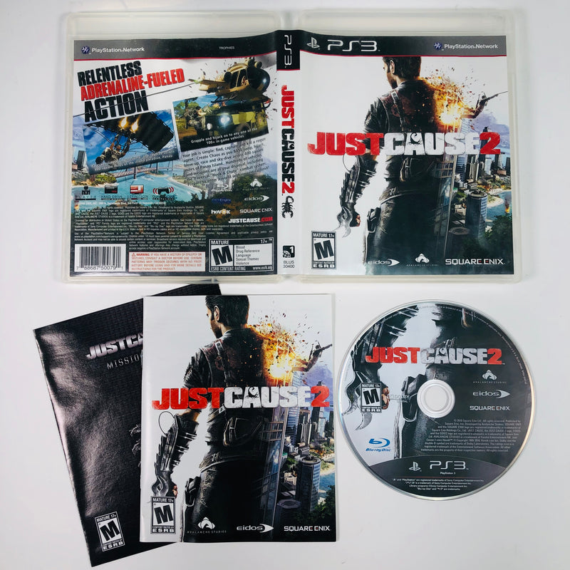 Just Cause 2 Sony Playstation 3 PS3