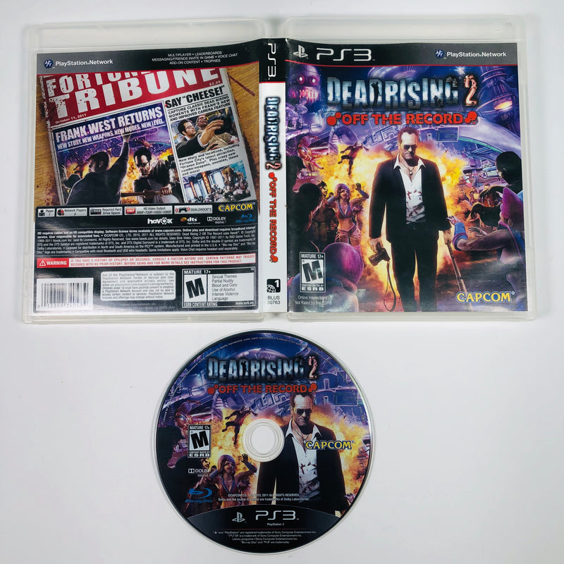 Dead Rising 2 Off The Record Sony Playstation 3 PS3