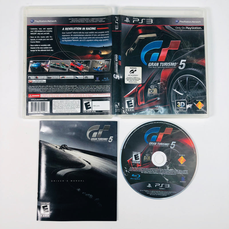 Gran Turismo GT 5 Sony Playstation 3 PS3