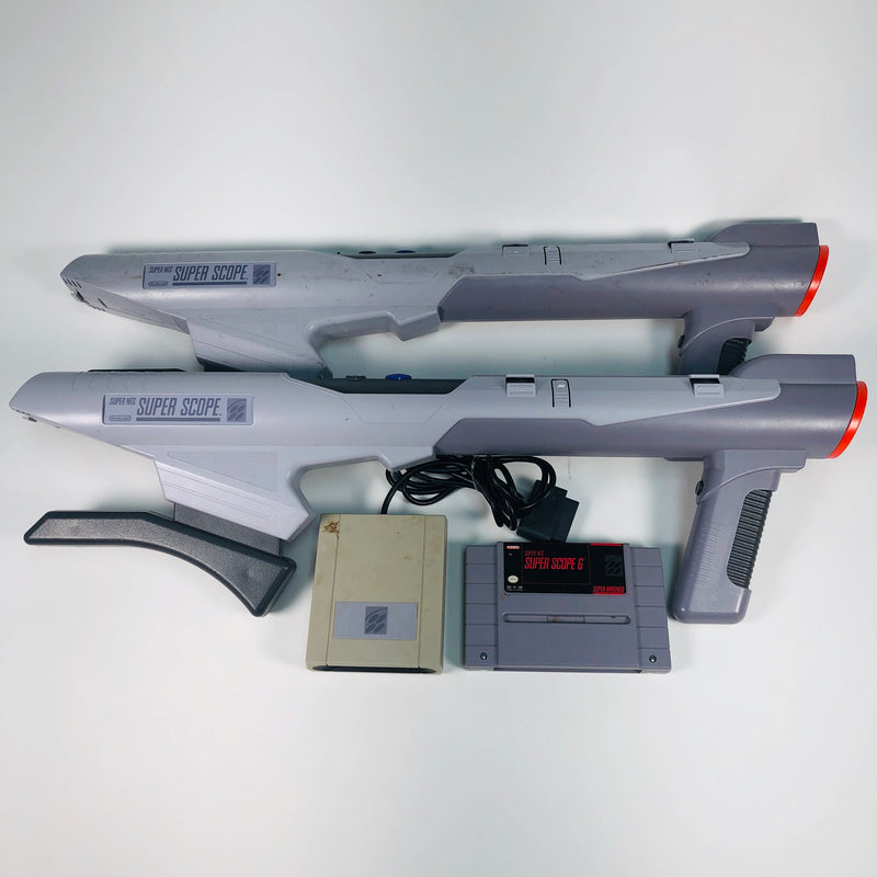 Super NES Super Scope 6 Nintendo SNES Lot For Parts
