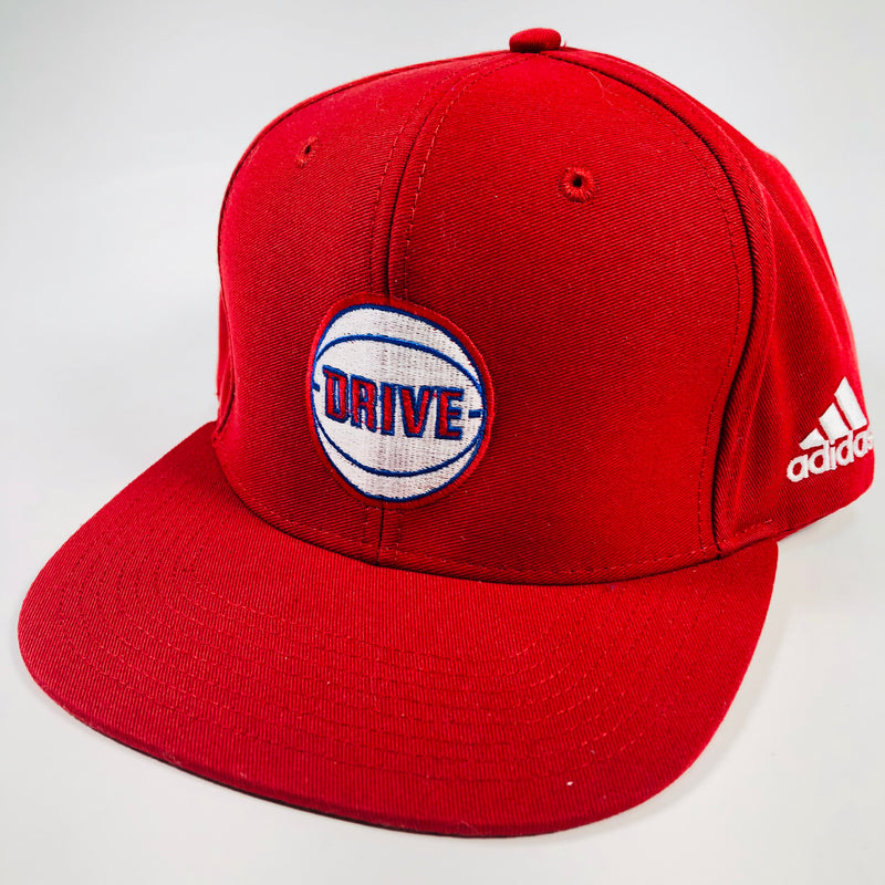 Adidas Drive Basketball Red Snapback Hat