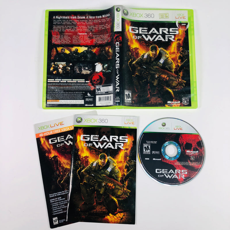 Gears Of War Microsoft Xbox 360