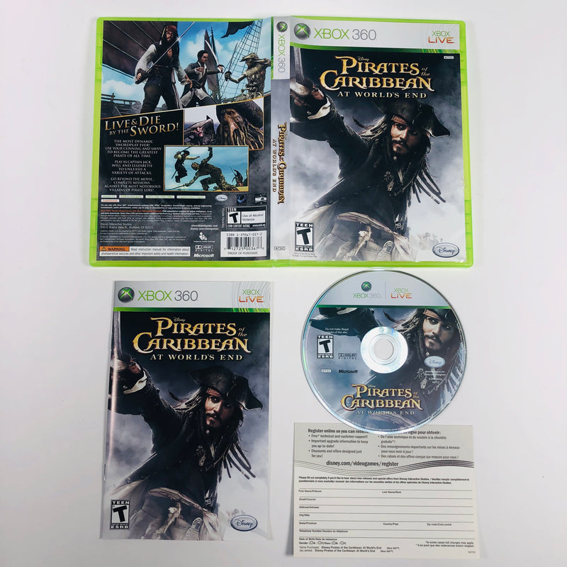 Pirates Of The Caribbean At The Worlds End Microsoft Xbox 360