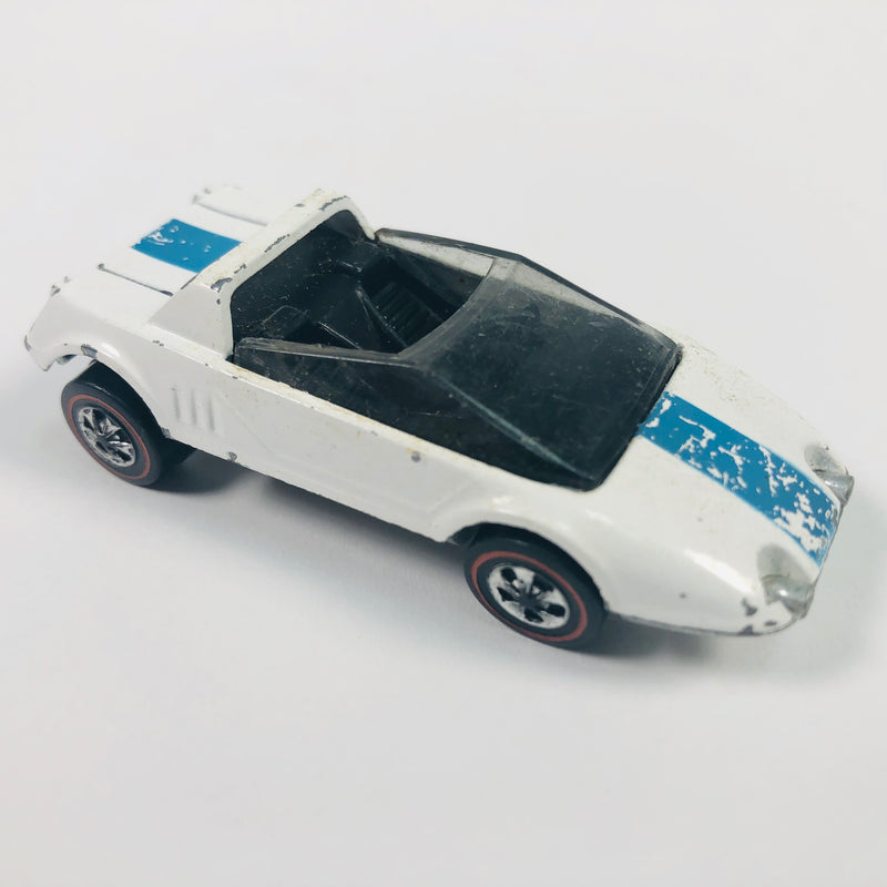Hot Wheels White 1969 Jack Rabbit Special Car Toy Vehicle