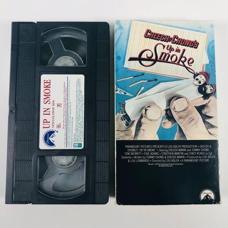 Cheech and Chong Up in Smoke 1978 Paramount 8966 VHS Tape