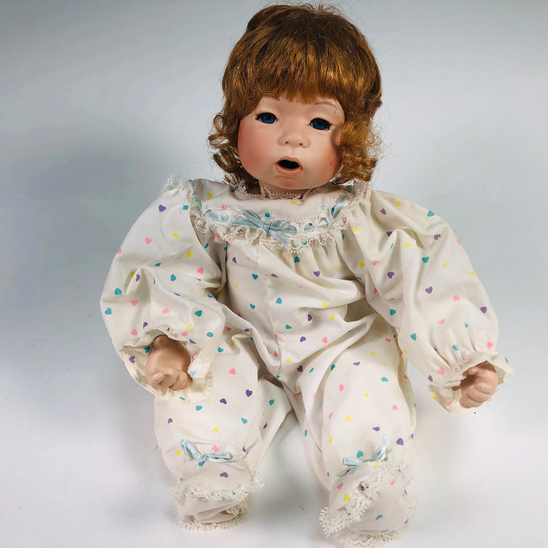 Julie Good-Kruger Ashton Drake Porcelain Night Night Baby in the Baby Talk Series