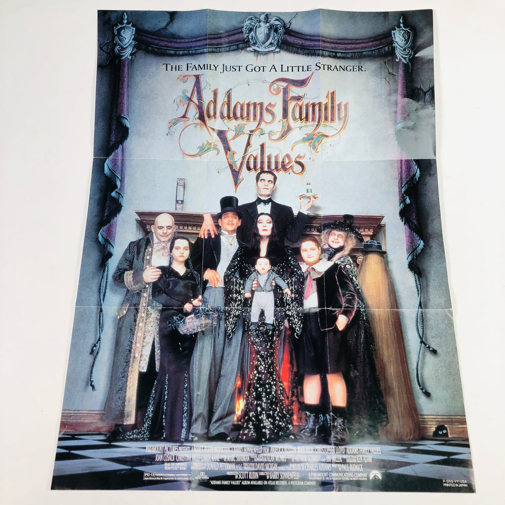 Addams (Adams) Family Values 1993 Movie Poster 12 x 16""