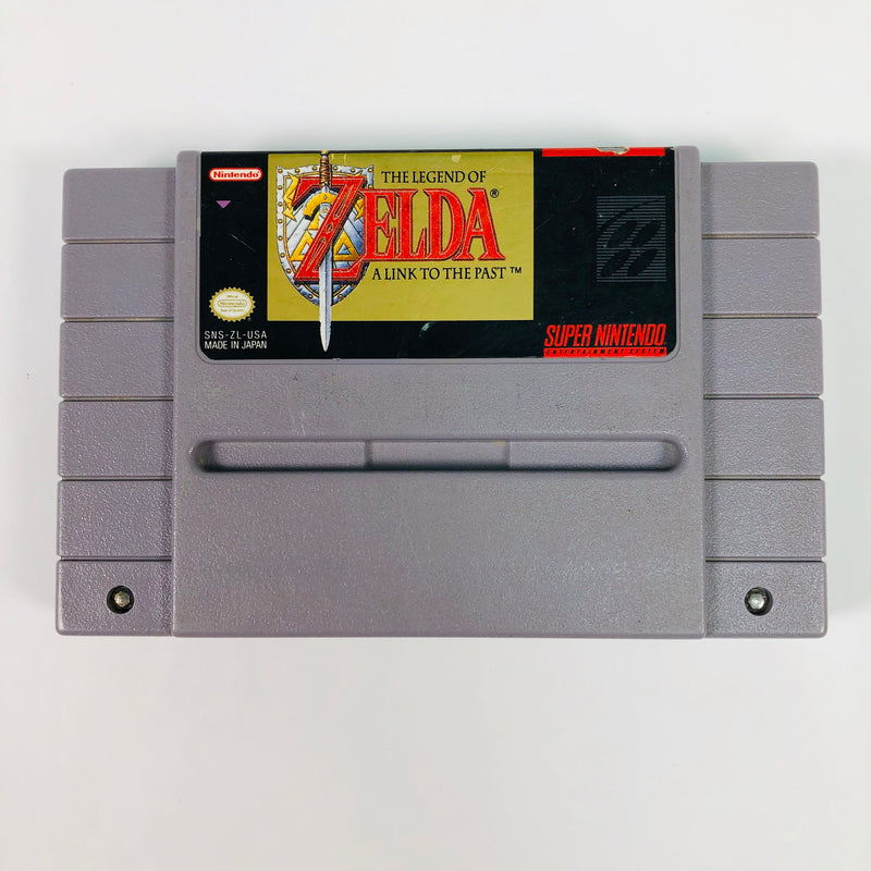 The Legend of Zelda A Link to the Past Super Nintendo SNES
