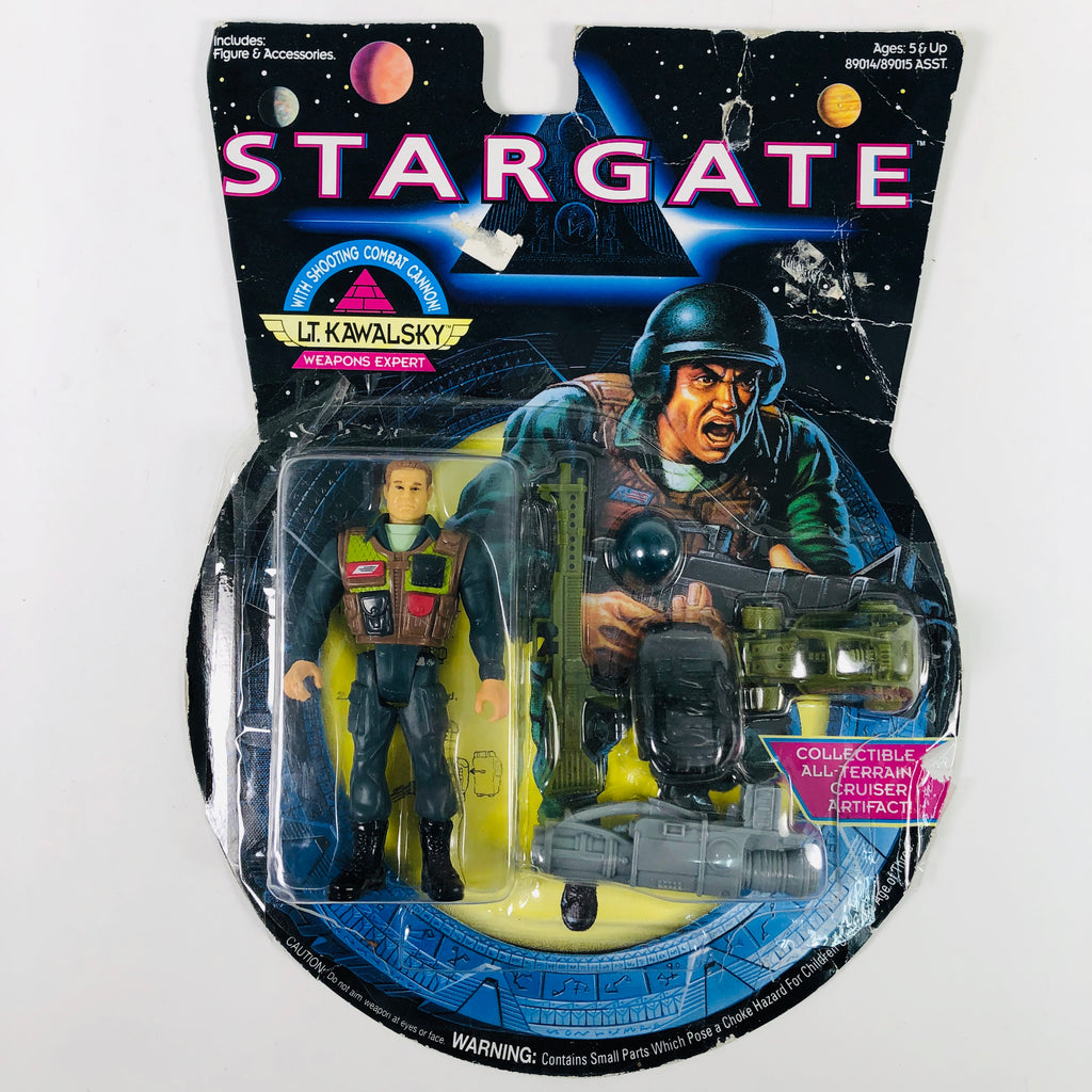 Stargate Lt Kawalsky Weapons Expert Hasbro 1994 Action Figure