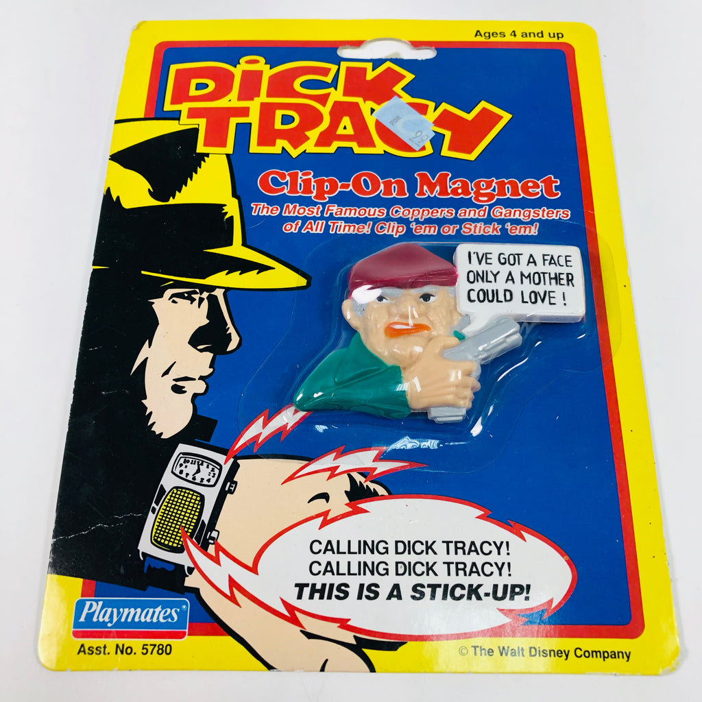 Dick Tracy Clip-On Magnet Steve The Tramp Disney Playmates 1990