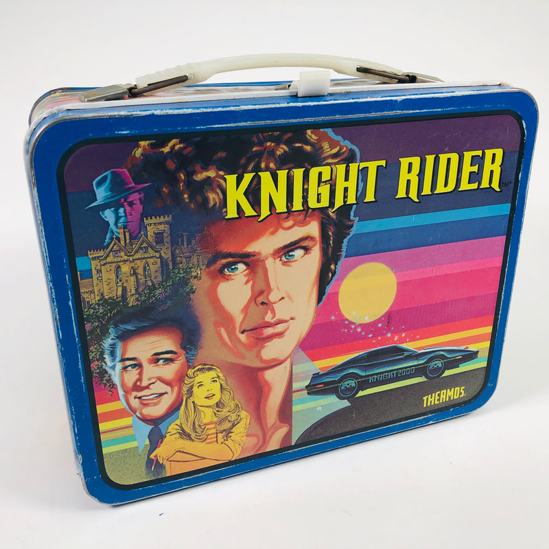 Knight Rider Thermos 1982 Metal Lunch Box