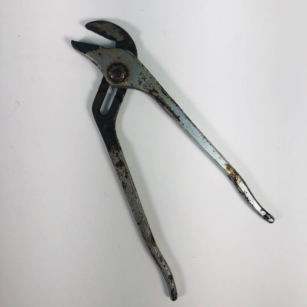 "Fuller No. 113 Straight Jaw Tongue & Groove Adjustable 10-1/4"" Pliers"