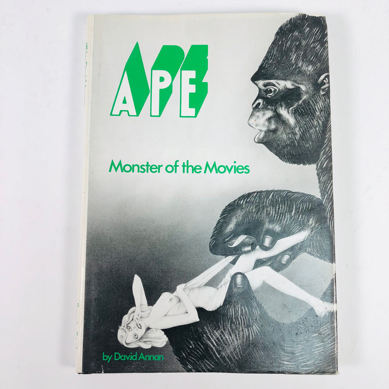 Ape Monster Of The Movies Book by David Annan