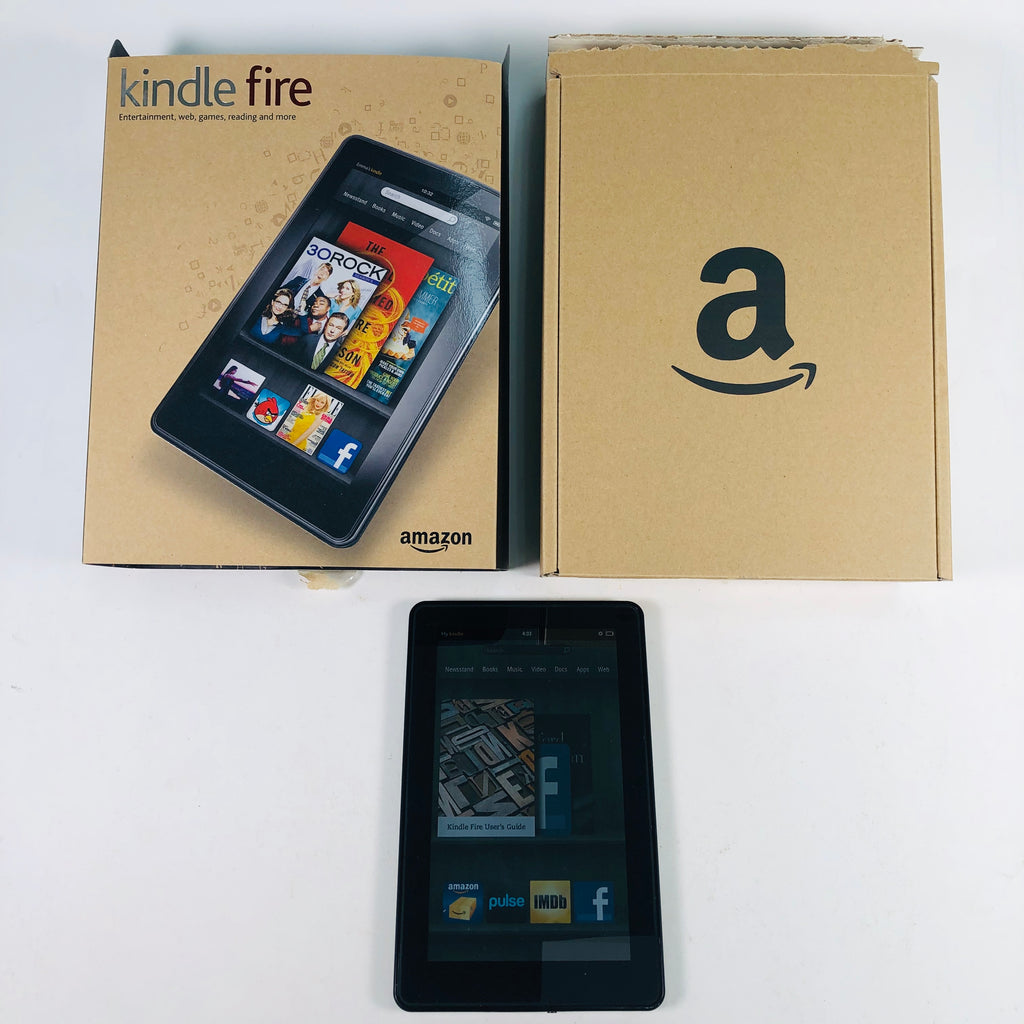 "Amazon Kindle Fire 1st Generation 7"" Wifi 8 GB Black Tablet D01400"