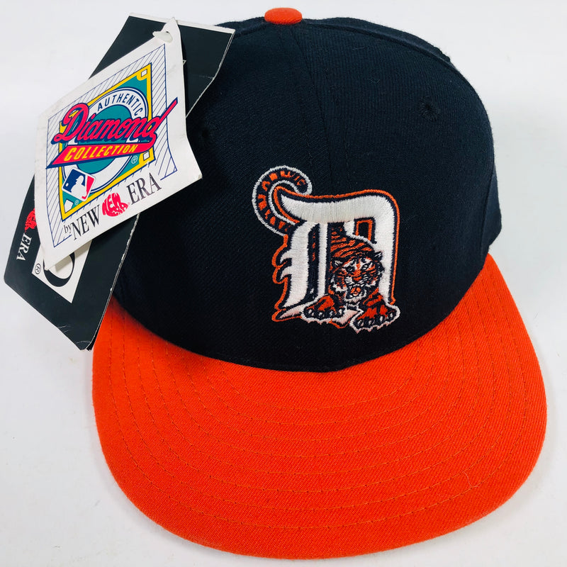 Detroit Tigers New Era Authentic Diamond Collection Fitted Baseball Hat