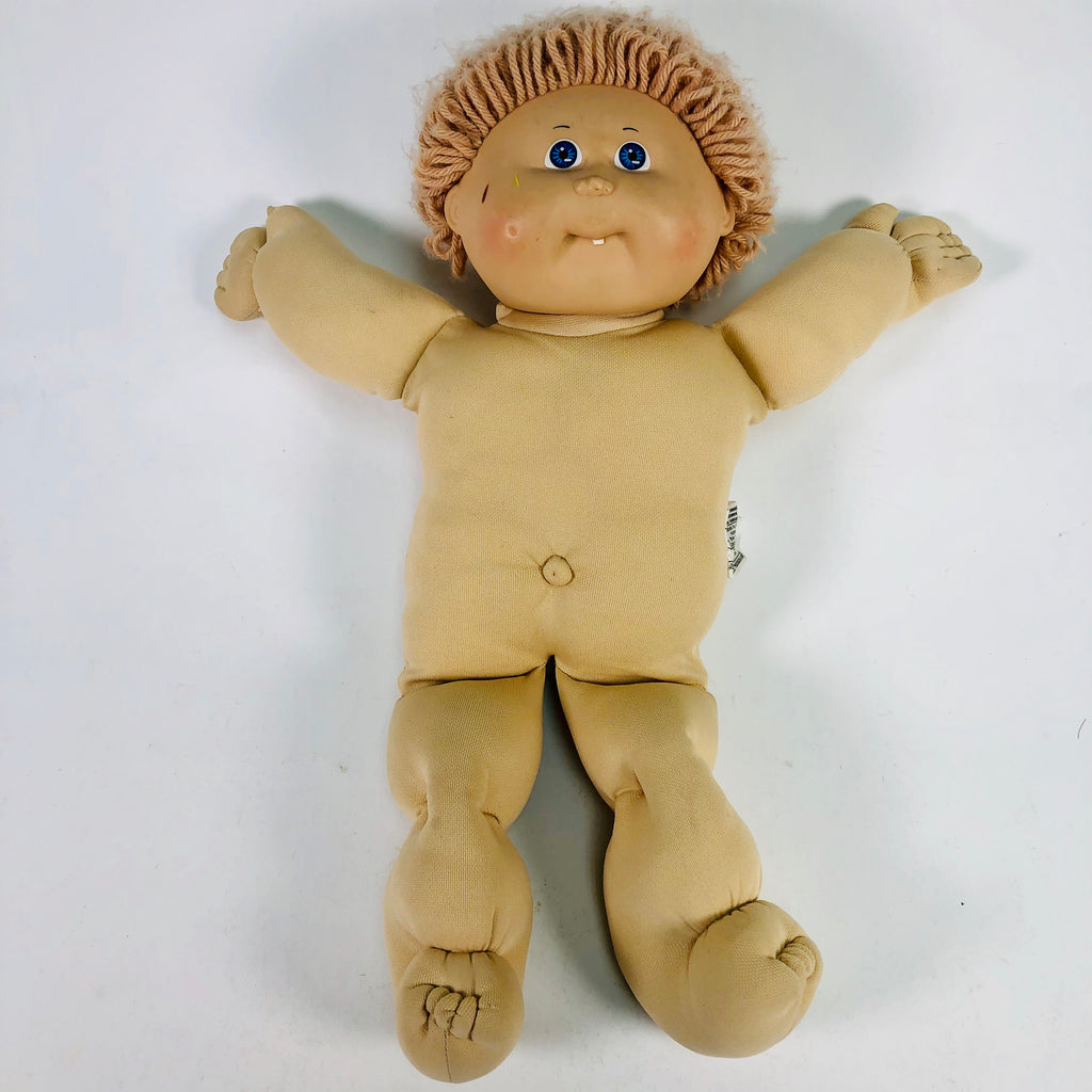 Cabbage Patch Kids CPK Blue Eyes One Tooth Boy Doll