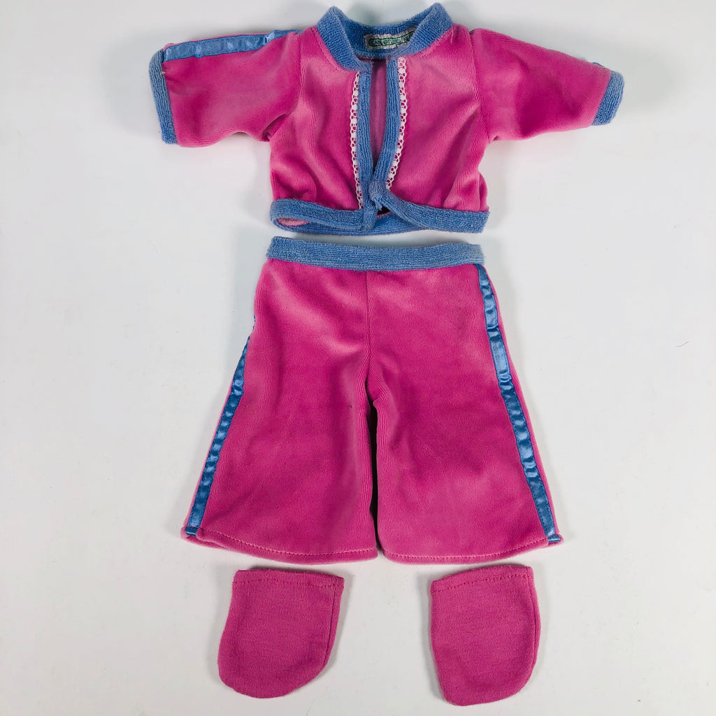 Cabbage Patch Kids CPK Pink & Blue Sweat Suit Outfit