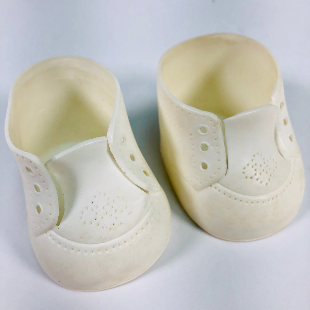 Cabbage Patch Kids CPK White Doll Shoes