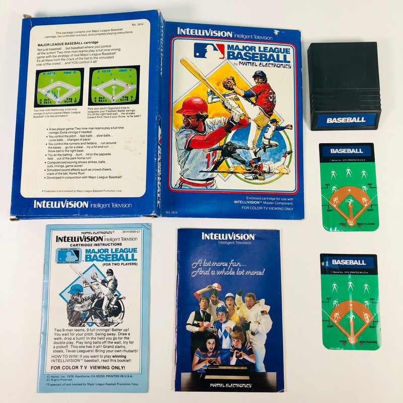 Major League Baseball Intellivision