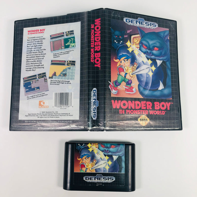 Wonder Boy In Monster World Sega Genesis