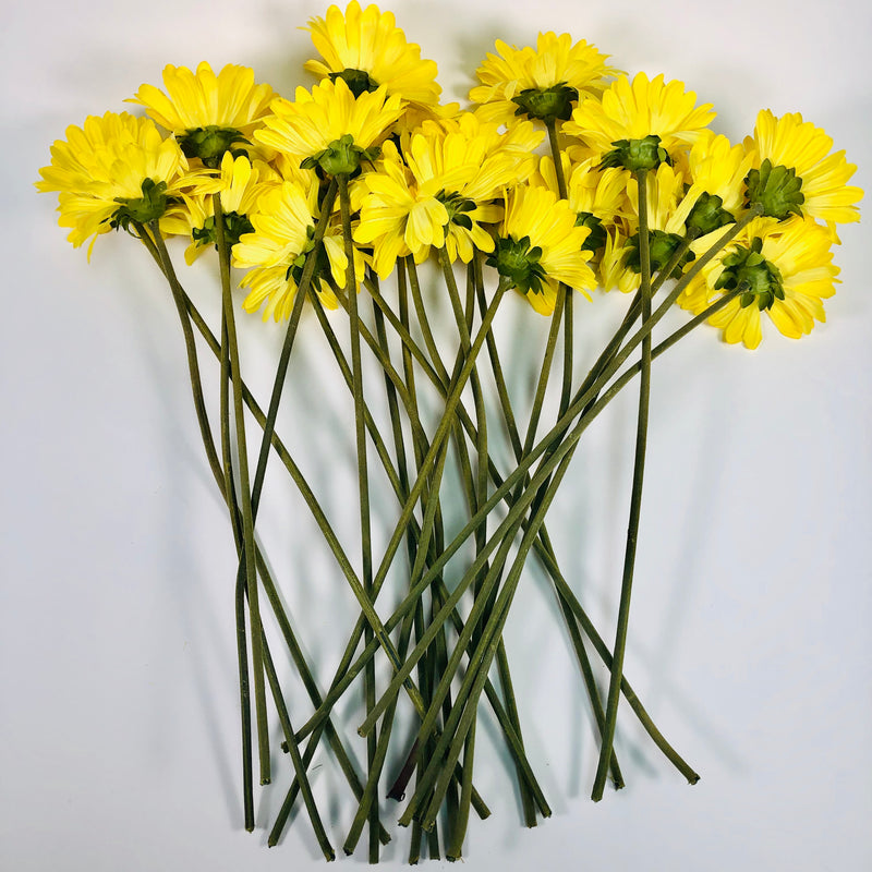 Yellow Artificial Flowers Bundle
