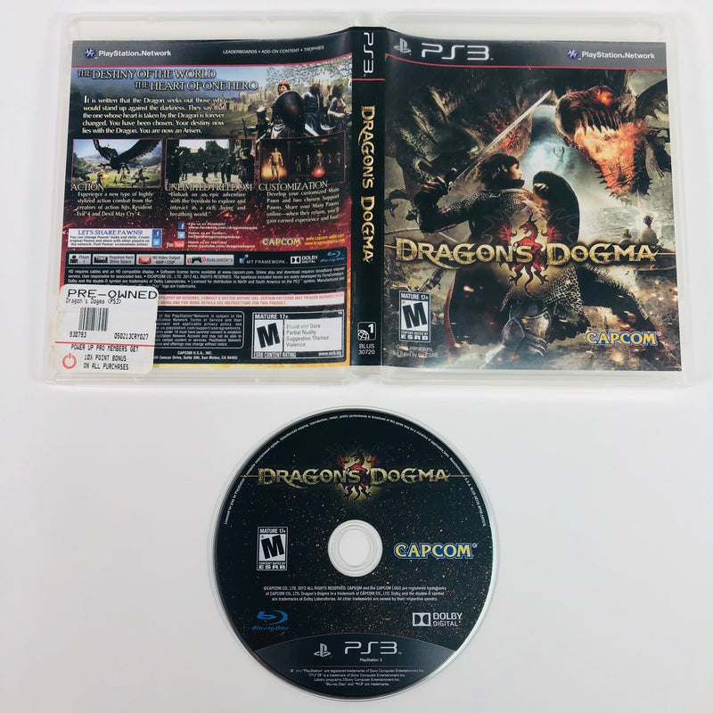 Dragons Dogma Sony Playstation 3 PS3