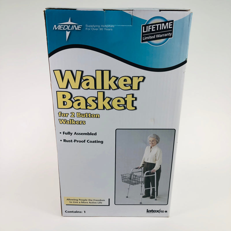 Medline Walker Basket 2 Button