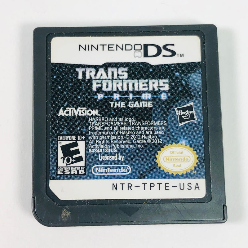 Transformers Prime The Game Nintendo DS