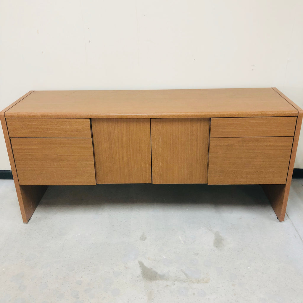 Wood 4 Drawer 2 Door Cordenza