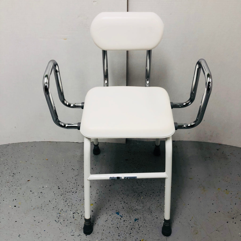 Drive Medical Chair w/ Arms & Adjustable Height