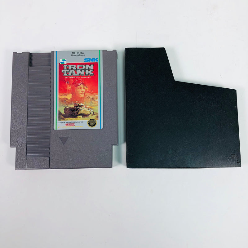Iron Tank The Invasion Of Normady Nintendo NES w/ Sleeve