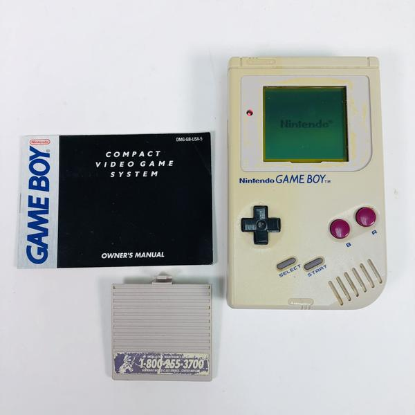 Original Nintendo Game Boy GB Gray Console Handheld System DMG-01
