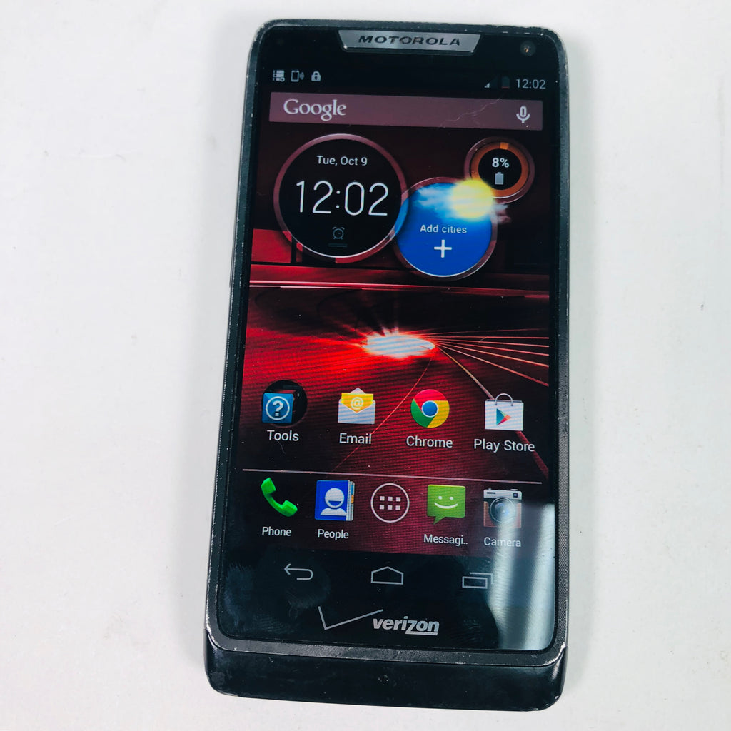Motorolla Droid RAZR M XT907 8 GB Black Verizon Smartphone