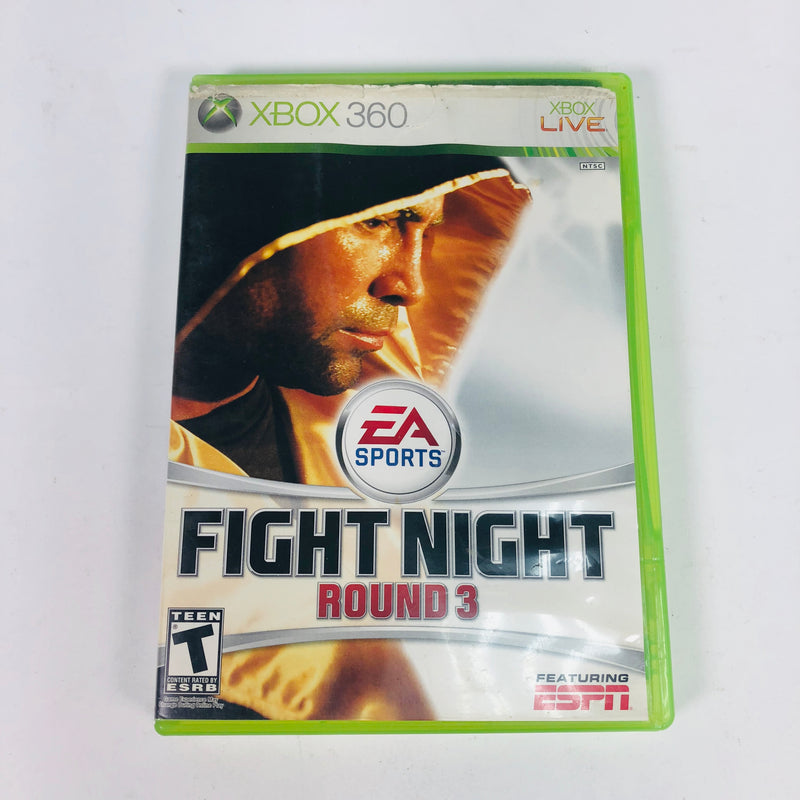 Fight Night Round 3 Microsoft Xbox 360 Complete