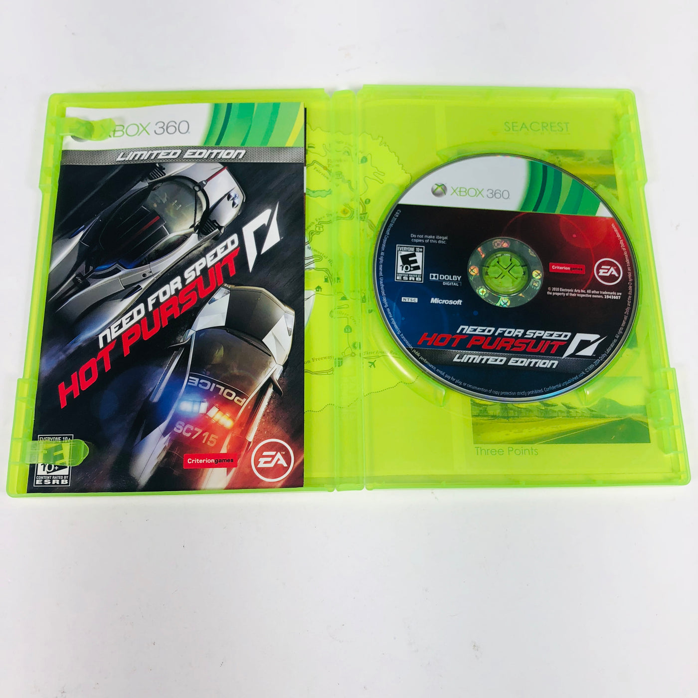 Need For Speed Hot Pursuit Microsoft Xbox 360 M15sales Com