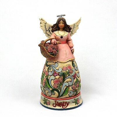 Jim Shore Heartwood Creek January Angel 2008 Figurine 4012550