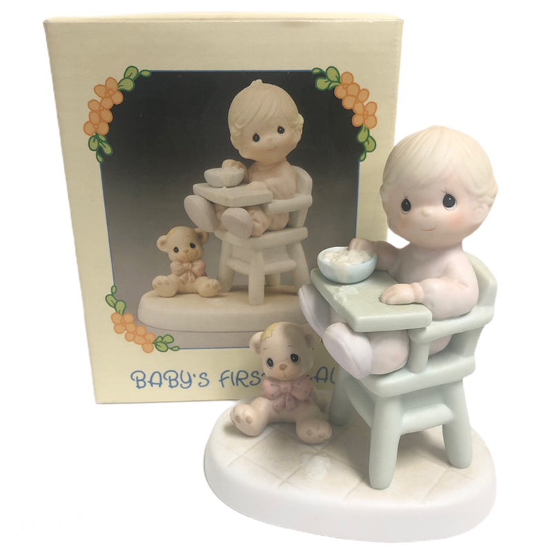 "Precious Moments Babys First Meal 5"" Figurine 524077"