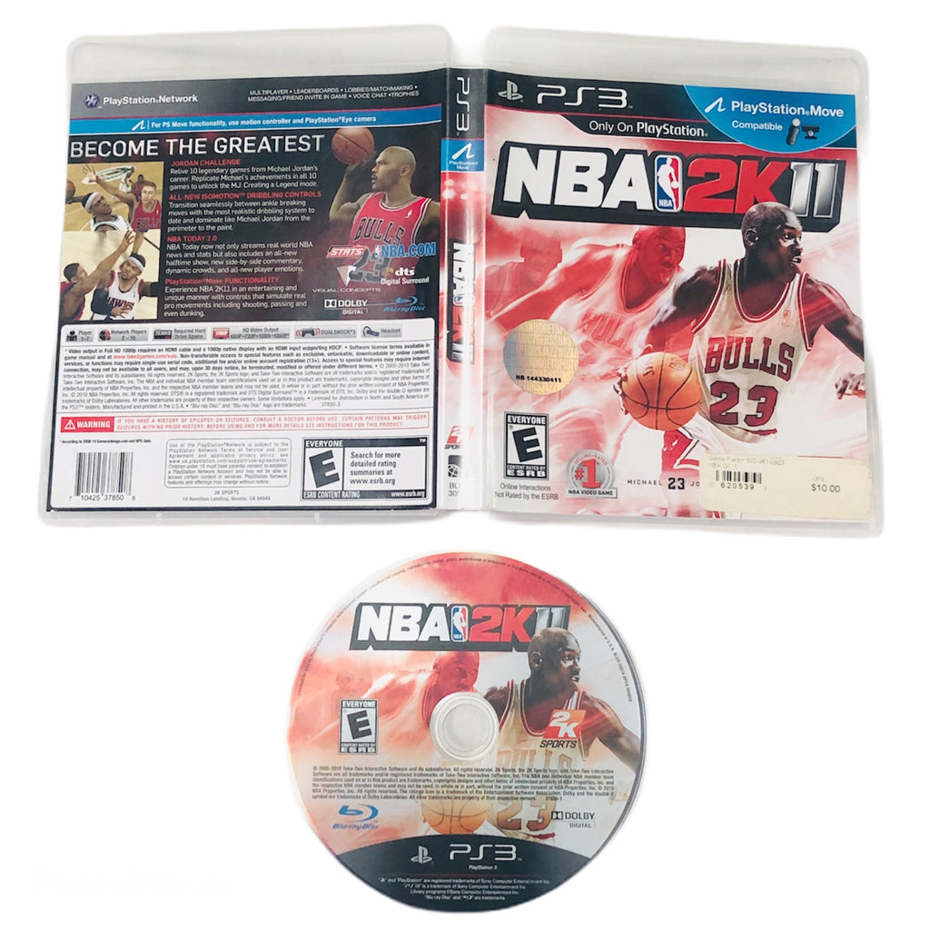 NBA 2k11 Sony Playstation 3 PS3