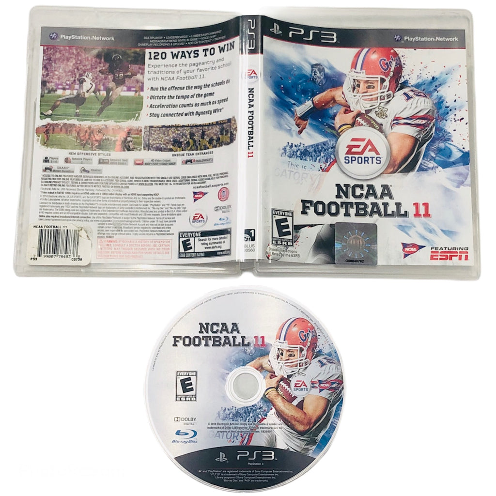 NCAA Football 11 Sony Playstation 3 PS3