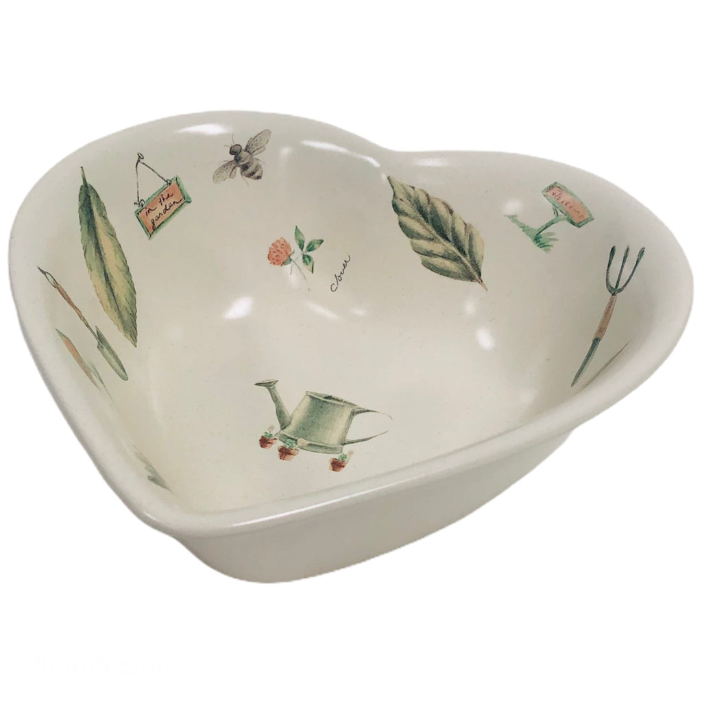 "Pfaltzgraff Naturewood Heart 8"" Serving Bowl"