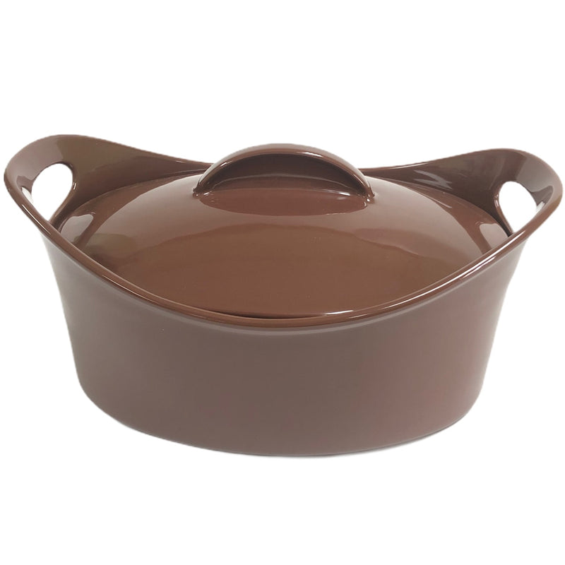 Rachael Ray 4.25 Qt Brown Handled Casserole Dish + Lid