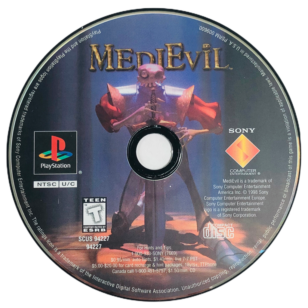 Medievil Sony Playstation 1 PS1